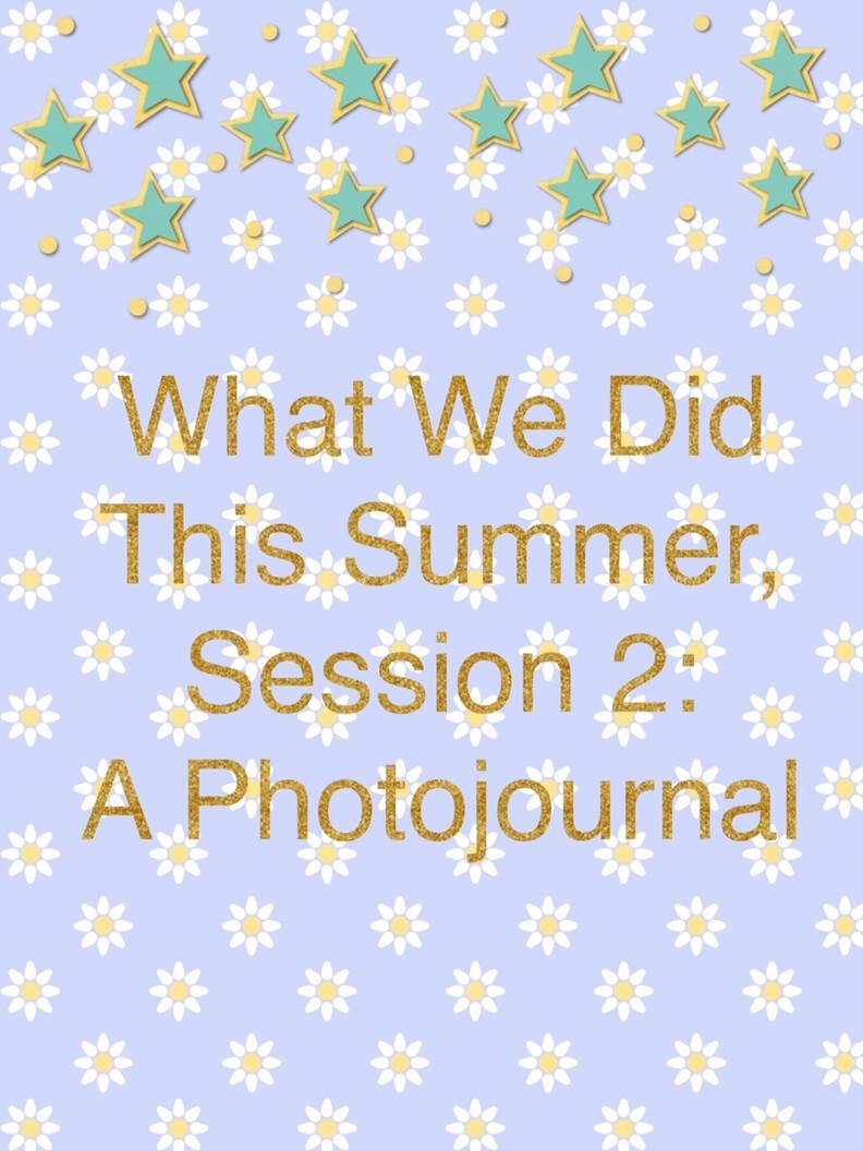 What We Did at UVA - Summer Session II 1